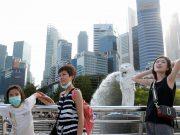 Corona bangkit di Singapura, Negeri jiran itu mencatat kasus tertinggi sejak setahun.