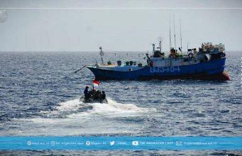 TNI AL Tangkap Kapal Taiwan di Natuna