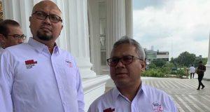 Komisioner KPU RI, Ilham Saputra dan Arief Budiman