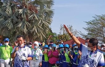 Menteri Sandi kembali mengunjungi Kepri.