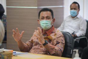 Gubernur Kepri H.Ansar Ahmad, SE, MM meminta kepala daerah se-Kepri menegakkan prokes.