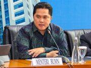 Meneg BUMN Menteri BUMN Erick Thohir menyebut bisnis pom bensin bakal tenggelam.