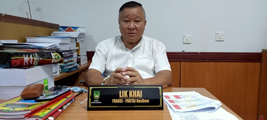 Lik Khai, Sekretaris Komisi 1 DPRD Batam, mendukung penuh Kejari untuk mengusut dugaan korupsi di Batam.