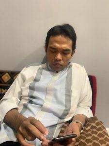 Akun resmi Facebook Ustadz Abdul Somad hilang alias raib.