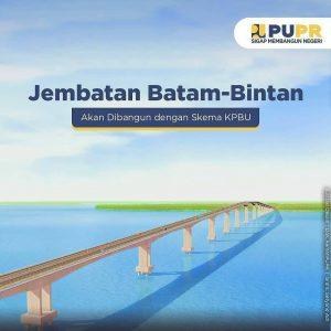 Pembangunan Jembatan Batam - Bintan memakai skema KPBU.
