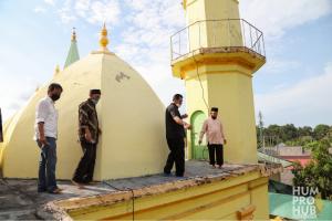 Gubernur Ansar berencana untuk merevitalisasi PuLau Penyengat.