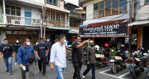 Blusukan H. Ansar Ahmad, SE, MM ke kota tua Tanjungpinang.