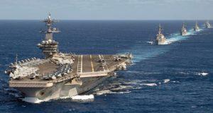 Amerika kembali mengerahkan kapal perangnya ke Laut China Selatan.