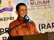 Gubernur Ansar meminta dukungan kepada semua pihak terkait pengelolaan dan pengawalasn SDA Laut.