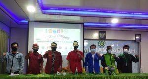 Kelompok diskusi Cipayung Plus menyoroti penanganan covid di Kota Batam.