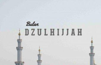Anjuran beramal saleh bagi umat Islam pada 10 hari pertama Dzulhijjah.