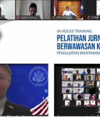 Kedubes AS menekankan pentingnya peran penting pers jaga kedamaian Laut Cina Selatan.